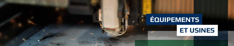 header équipements et usines laser amp