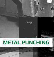 bouton gris metal punching laser amp