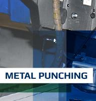 bouton metal punching laser amp